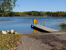 Boat Ramp Royalty Free Stock Image