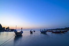 Boat of raying sea,Rayong province, Stock Images