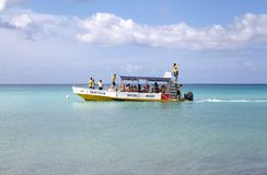 Boat for recreational diving Stock Photography