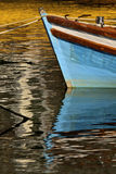 Boat reflection Royalty Free Stock Photography