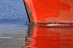 Boat reflection Royalty Free Stock Image
