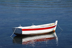 Boat Reflection Royalty Free Stock Images