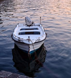 Boat with reflection Royalty Free Stock Images