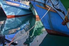 Boat reflection Royalty Free Stock Photo