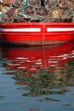 Boat Reflections Royalty Free Stock Photo