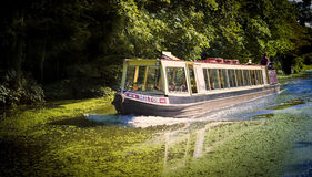 Boat, Regents Canal, London, England Royalty Free Stock Image