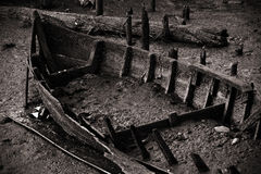 Boat Remains Royalty Free Stock Image