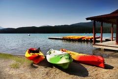 Boat Rental, Lakeside Royalty Free Stock Photos