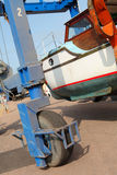 Boat Repair 2 Stock Photography