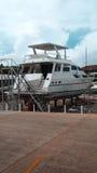 Boat repair Royalty Free Stock Photos