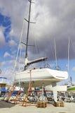 Boat repairs Stock Photo