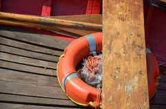 Boat rescue stock image