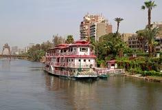 Boat restaurant royalty free stock image