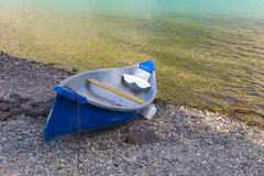 Boat resting on Shore Royalty Free Stock Images