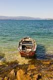 Boat in Rias Baixas Royalty Free Stock Image