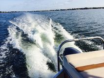 Boat ride, iPhone photo. Royalty Free Stock Photography