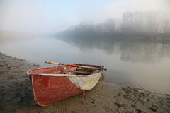 The boat on the river. Stock Photography