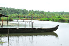 Boat in River Stock Photography