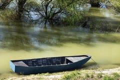 Boat in the river Stock Photo