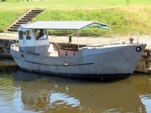 Boat in river Stock Image