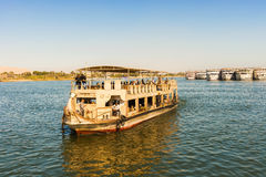 Boat on river Nile. Stock Images