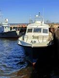 Boat in river port Stock Image