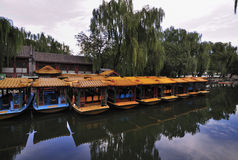 Boat On The River, Summer Palace ,Beijing Royalty Free Stock Photos