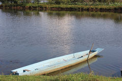 Boat on the river Royalty Free Stock Photography