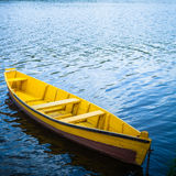 Boat in a river Royalty Free Stock Images