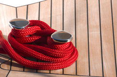 Boat rope Royalty Free Stock Photos