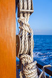 Boat Rope with Knot Royalty Free Stock Image