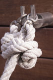 Boat rope knot Royalty Free Stock Photos