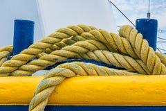 Boat Rope Royalty Free Stock Photos