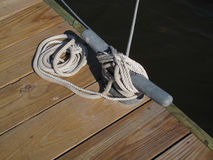Free Boat Rope Tie Down Stock Images - 79768234