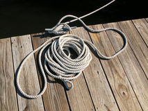 Boat Rope Tie Down Stock Images