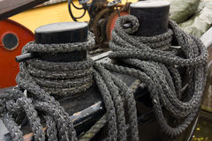 Boat rope Royalty Free Stock Images