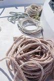 A boat ropes Royalty Free Stock Image