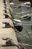 Boat Ropes Royalty Free Stock Image