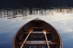 Boat Rowing Swimming Stock Photography