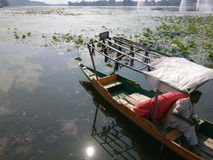 Boat& x27;s-Mansbal lake Stock Photo
