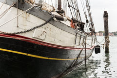 Boat's prow Stock Image