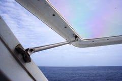 Boat's Window Royalty Free Stock Photo