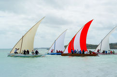Boat sail regatta competition Stock Image