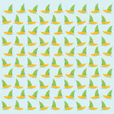 Boat or sailboat pattern Royalty Free Stock Photography