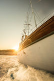 Boat Sailing Royalty Free Stock Photos