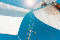 Boat Sailing Stock Photography
