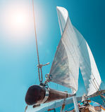 Boat Sailing Royalty Free Stock Image