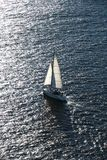Boat sailing. Royalty Free Stock Photography
