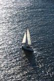 Boat sailing. royalty free stock photography