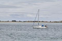 Boat sailing royalty free stock photography